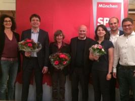 Birgit Knoblach, Florian von Brunn, Helga Hügenell, Christian Vorländer, Anne Hübner, Sebastian Roloff, Markus Lutz