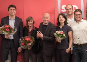 Florian von Brunn, Helga Hügenell, Christian Vorländer, Anne Hübner, Sebastian Roloff, Markus Lutz