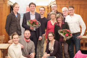 Ortsverein Sendling mit Florian von Brunn