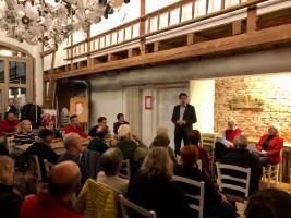 Florian von Brunn berichtet über Neuigkeiten zur Klimaerhitzung und lokalem Engagement