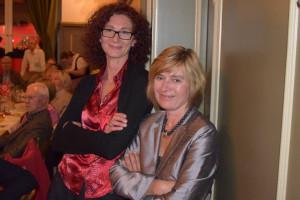 Birgit Knoblach und Helga Hügenell