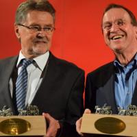 Preisträger Werner Dietrich und Ulrich Chaussy