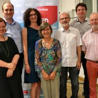 Der neue LSK-Vorstand mit FLorian von Brunn MdL und Helga Hügenell, Bezirksrätin
